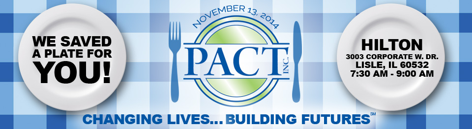 PACT Inc. Changing Lives Building Futures Fundraiser Breakfast
