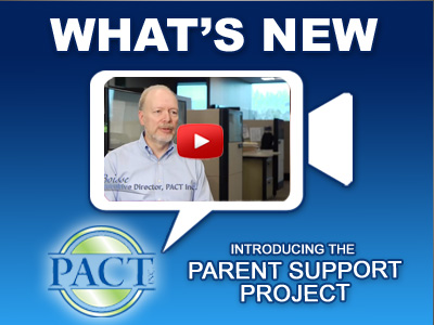 Introducing the Parent Support Project - Video