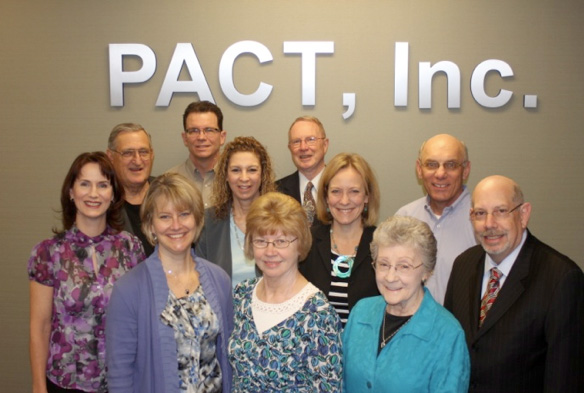 PACT, Inc. Board of Directors Jean Clifton, Lane Epstein, Gail Gotsis, Neil T. Goltermann, Annette Hammortree, Vikas Jhangiani, Thomas M. Love, Dennis O'Connell, Alyne Polikoff, Brian Rubin, Madeline Spradlin, Helen Swanson, Lisa Tang, and Mike Welgat, PACT s located in Lisle, Il
